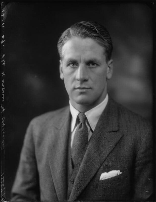 Douglas Douglas-Hamilton, 14th Duke of Hamilton, by Bassano Ltd, 12 November 1929 - NPG x124803 - © National Portrait Gallery, London