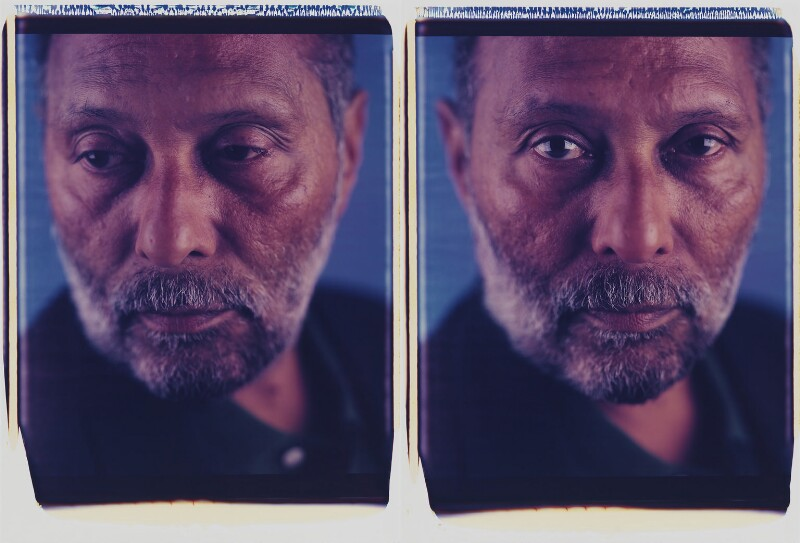 Stuart McPhail Hall, by Dawoud Bey, 9 May 1998 - NPG P730 - © Dawoud Bey