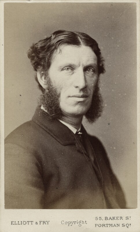 Matthew Arnold, by Elliott & Fry, 1870s - NPG Ax18222 - © National Portrait Gallery, London