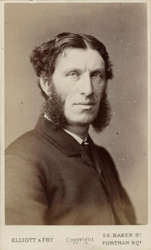 Matthew Arnold, by Elliott & Fry, 1870s - NPG Ax18222 - © National Portrait Gallery, London