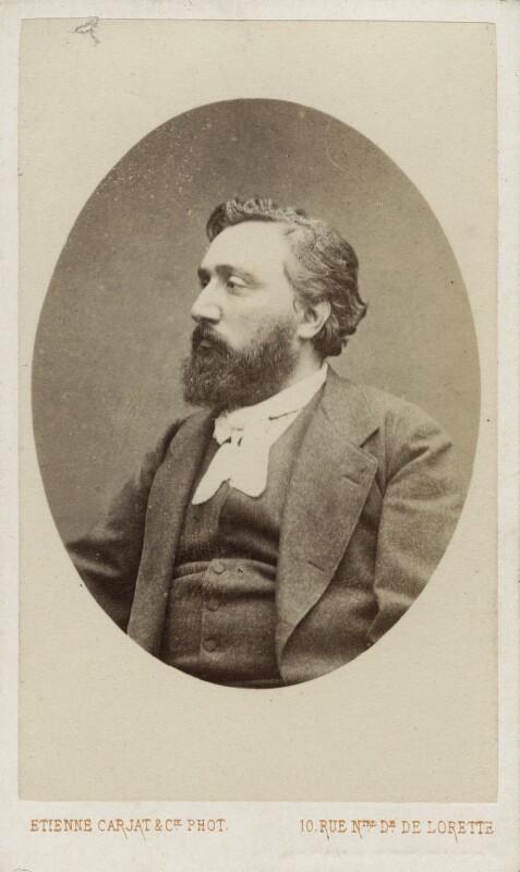 Léon Gambetta, by Carjat & Co (Etienne Carjat), 1870s - NPG Ax18238 - © National Portrait Gallery, London