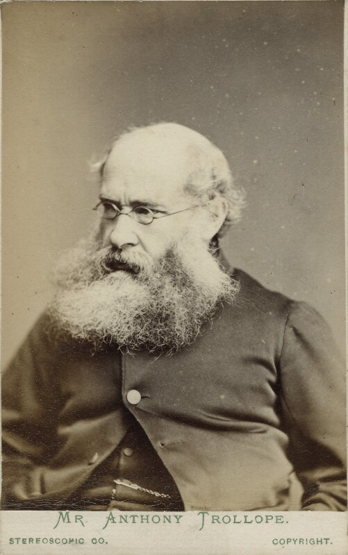 Anthony Trollope, by London Stereoscopic & Photographic Company, 1870s - NPG Ax18230 - © National Portrait Gallery, London