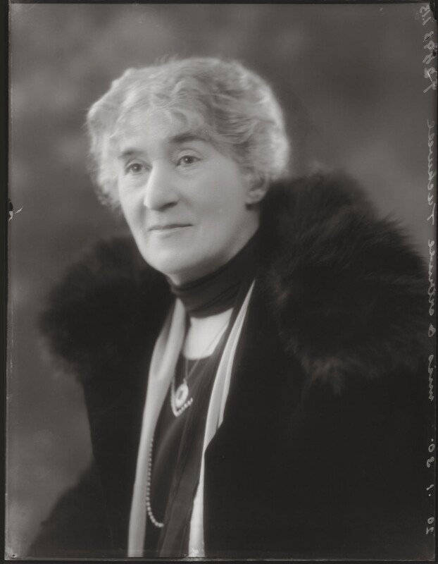Gertrude Mary Tuckwell, by Bassano Ltd, 20 January 1930 - NPG x124853 - © National Portrait Gallery, London