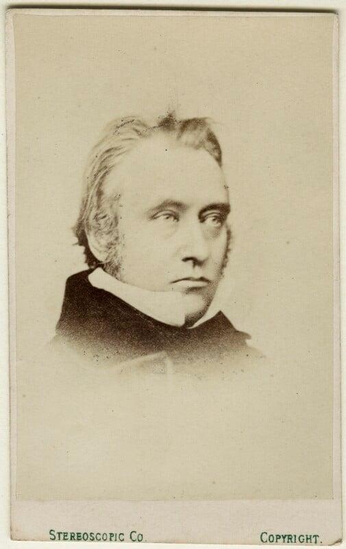 Thomas Babington Macaulay, Baron Macaulay, by London Stereoscopic & Photographic Company, 1860s - NPG Ax18324 - © National Portrait Gallery, London