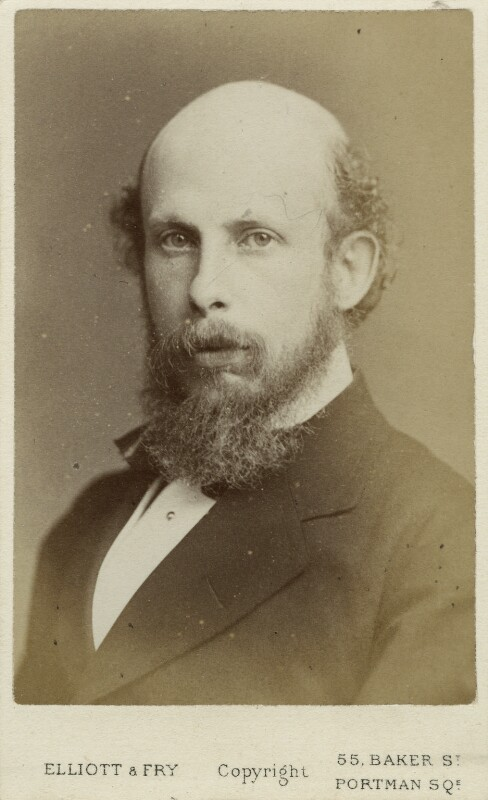 John Edward Jenkins, by Elliott & Fry, 1860s-1870s - NPG Ax18326 - © National Portrait Gallery, London