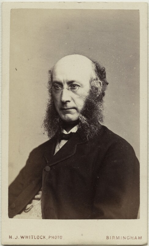 Robert Bentley, by Henry Joseph Whitlock, 1860s - NPG Ax18345 - © National Portrait Gallery, London