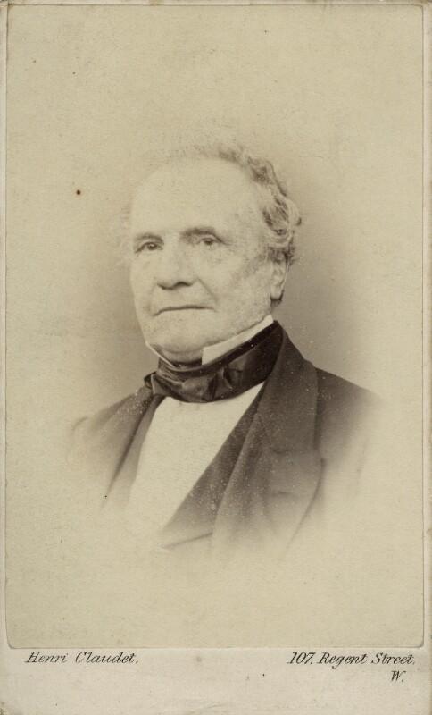 Charles Babbage, by Henri Claudet, 1860s - NPG Ax18347 - © National Portrait Gallery, London