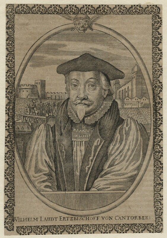 William Laud, by Unknown engraver, after 1645 - NPG D21584 - © National Portrait Gallery, London
