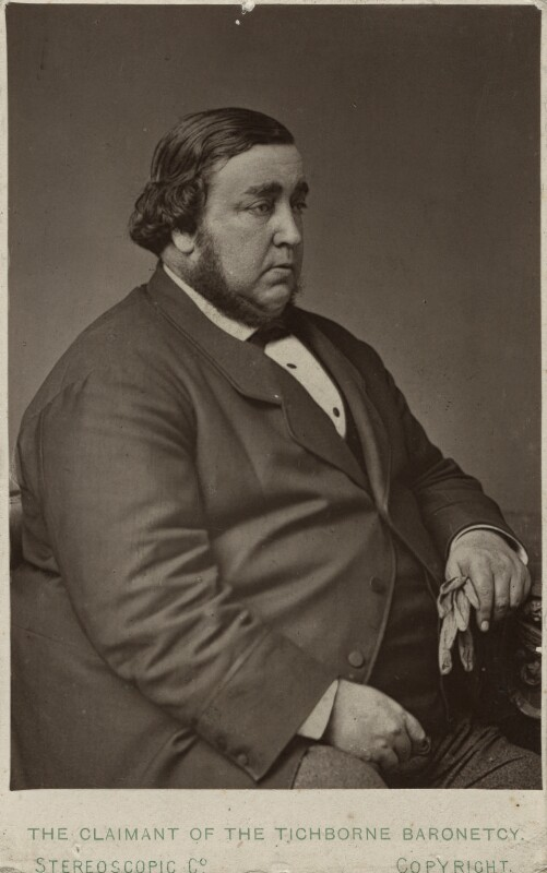 Arthur Orton, by London Stereoscopic & Photographic Company, circa 1871-1874 - NPG Ax18248 - © National Portrait Gallery, London