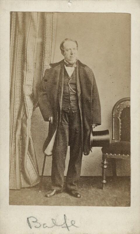 Michael William Balfe, by (George) Herbert Watkins, early 1860s - NPG Ax18253 - © National Portrait Gallery, London