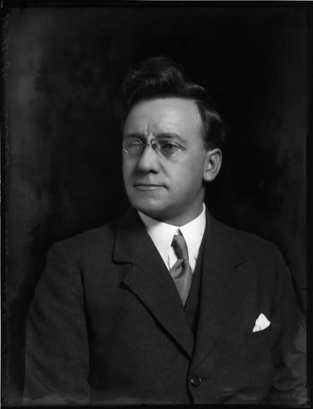 Herbert Stanley Morrison, Baron Morrison of Lambeth, by Bassano Ltd, 10 December 1930 - NPG x124994 - © National Portrait Gallery, London