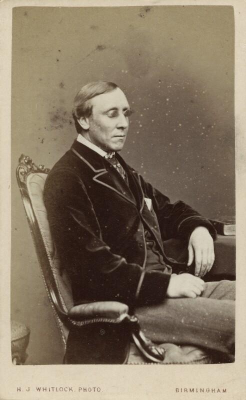 Henry Fawcett, by Henry Joseph Whitlock, 1860s-1870s - NPG Ax18294 - © National Portrait Gallery, London