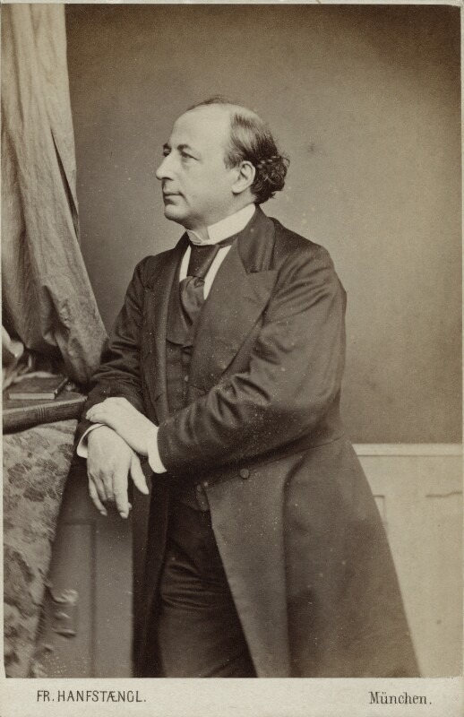 Père Hyacinthe (Charles Jean Marie Loyson), by Franz Hanfstaengl, 1860s - NPG Ax18303 - © National Portrait Gallery, London