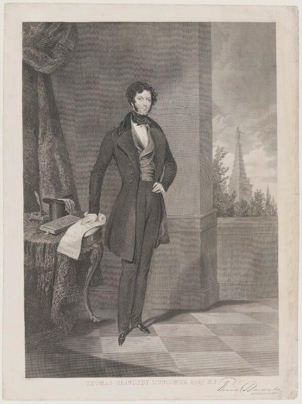 Thomas Slingsby Duncombe, by George Stodart, after  James Warren Childe, 1842 - NPG D21601 - © National Portrait Gallery, London