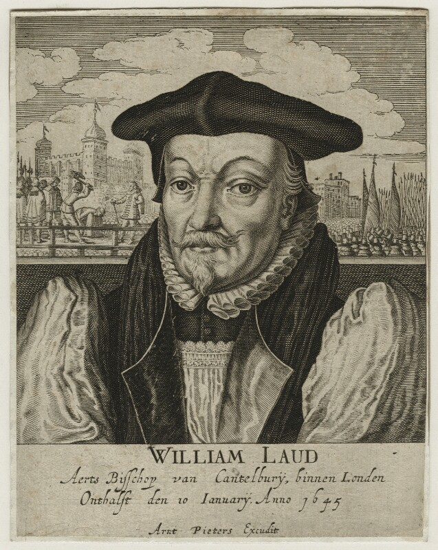 William Laud, published by Arent Pietersen, after 1645 - NPG D21586 - © National Portrait Gallery, London
