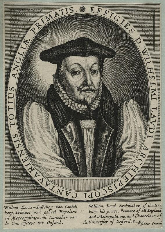 William Laud, published by Claes Jansz Visscher, circa 1633-1645 - NPG D21588 - © National Portrait Gallery, London