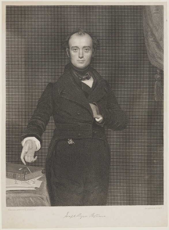 Joseph Rayner Stephens, by James Posselwhite, after  Benjamin Garside, 1839 - NPG D21606 - © National Portrait Gallery, London