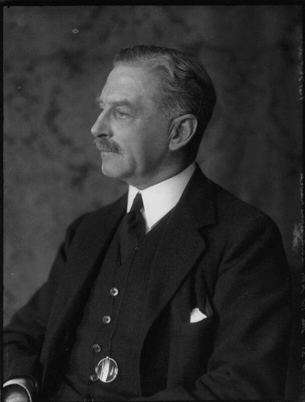 John Lawrence Baird, 1st Viscount Stonehaven, by Bassano Ltd, 16 April 1931 - NPG x150063 - © National Portrait Gallery, London