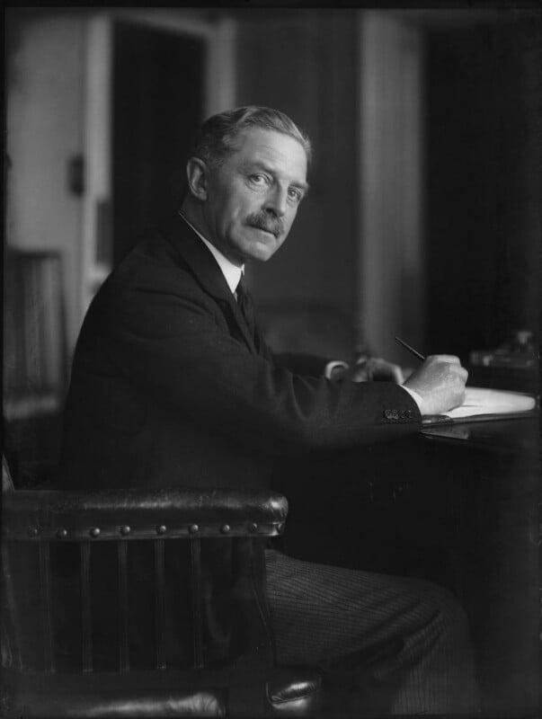 John Lawrence Baird, 1st Viscount Stonehaven, by Bassano Ltd, 16 April 1931 - NPG x150064 - © National Portrait Gallery, London