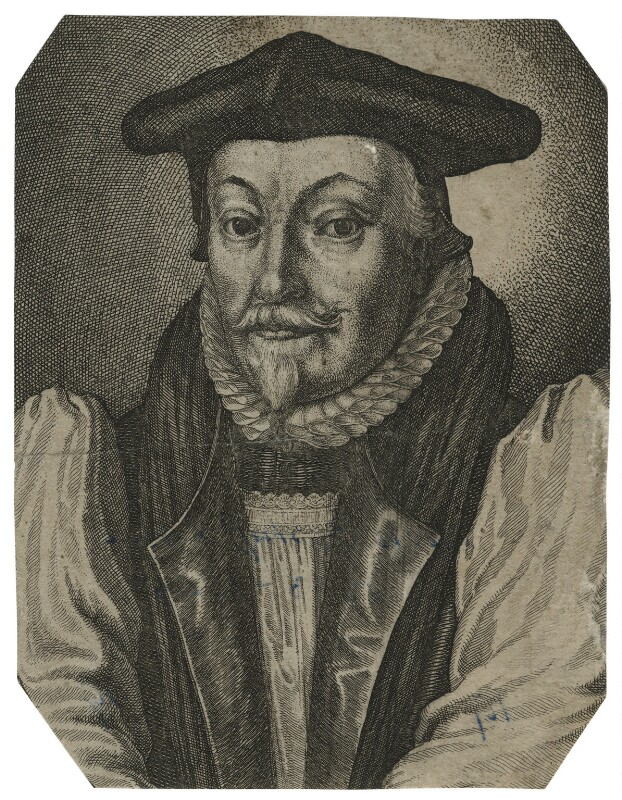 William Laud, probably by Wenceslaus Hollar, mid 17th century - NPG D21587 - © National Portrait Gallery, London