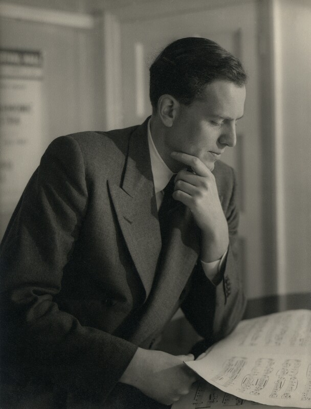 Richard Anthony Sayer Arnell, by Howard Coster, 1954 - NPG x104 - © National Portrait Gallery, London