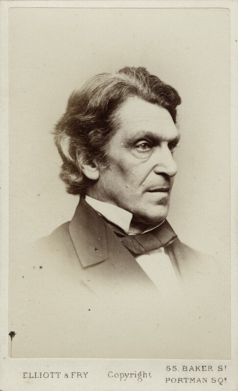 James Martineau, by Elliott & Fry, 1860s - NPG Ax18312 - © National Portrait Gallery, London