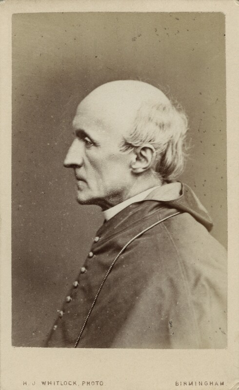 Henry Edward Manning, by Henry Joseph Whitlock, 1867? - NPG Ax18314 - © National Portrait Gallery, London