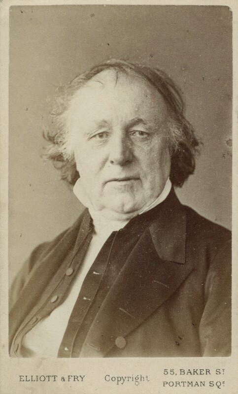 Thomas Binney (Benny), by Elliott & Fry, 1860s - NPG Ax18315 - © National Portrait Gallery, London