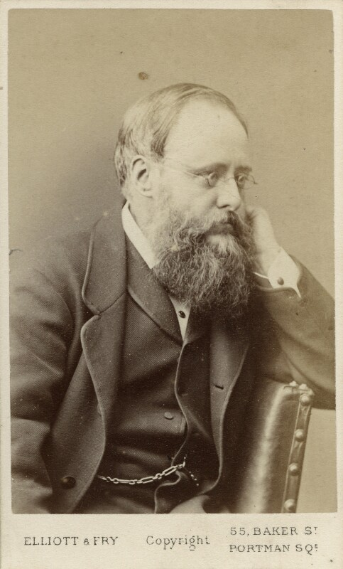 Wilkie Collins, by Elliott & Fry, 1878 - NPG Ax18229 - © National Portrait Gallery, London