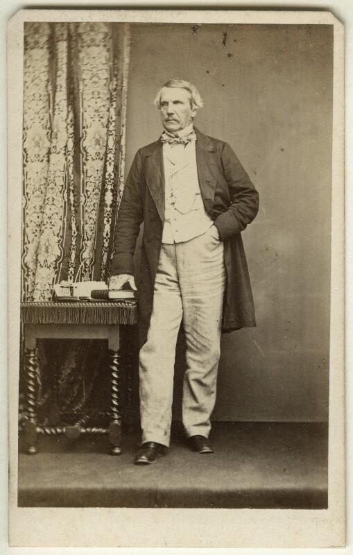 John Laird Mair Lawrence, 1st Baron Lawrence, by John & Charles Watkins, 1860s - NPG x45204 - © National Portrait Gallery, London