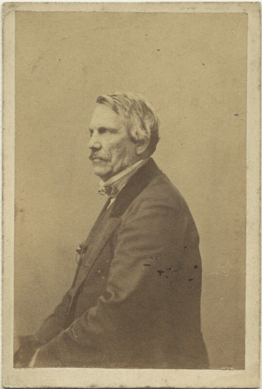 John Laird Mair Lawrence, 1st Baron Lawrence, by Caldesi, Blanford & Co, early 1860s - NPG x12416 - © National Portrait Gallery, London
