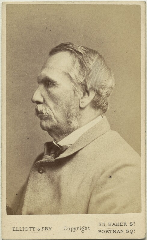 John Laird Mair Lawrence, 1st Baron Lawrence, by Elliott & Fry, 1870s - NPG x12418 - © National Portrait Gallery, London