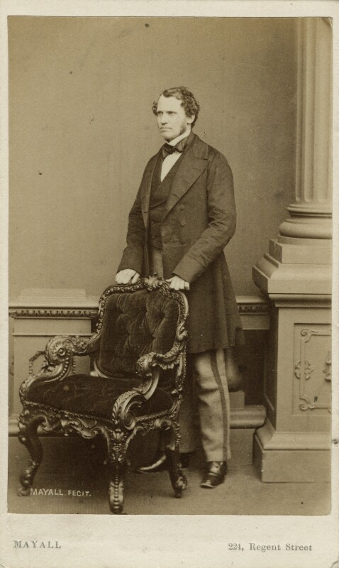 Edward Henry Stanley, 15th Earl of Derby, by John Jabez Edwin Mayall, 1861 - NPG x13386 - © National Portrait Gallery, London