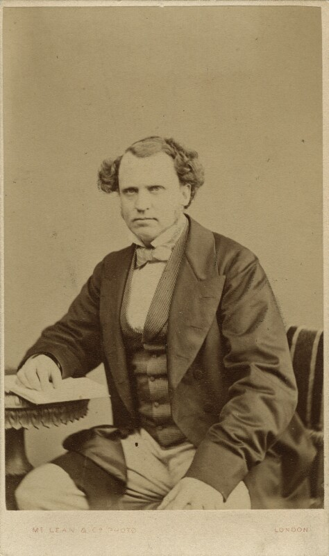 Edward Henry Stanley, 15th Earl of Derby, by Thomas McLean & Co, late 1860s - NPG x13385 - © National Portrait Gallery, London