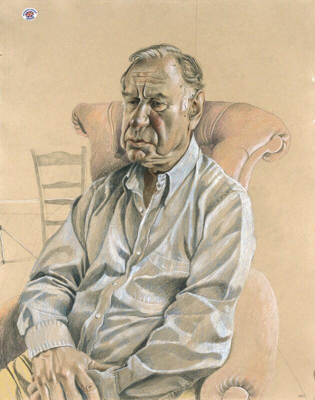 Geoffrey Palmer, by Stuart Pearson Wright, 2004-2005 - NPG 6755 - © National Portrait Gallery, London