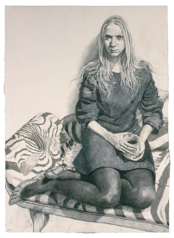 Nathalie Press, by Stuart Pearson Wright, 2005-2006 - NPG 6756 - © National Portrait Gallery, London