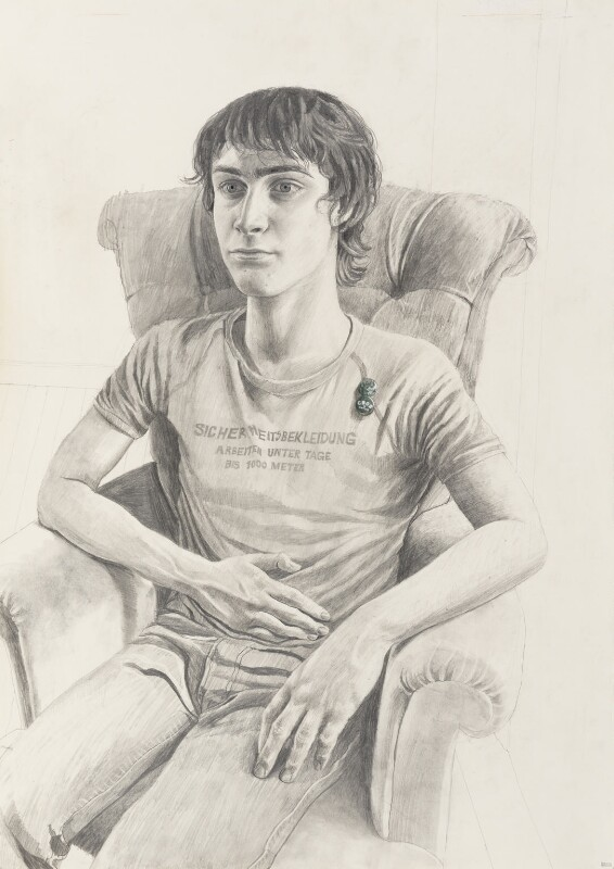 Daniel Radcliffe, by Stuart Pearson Wright, 2004-2006 - NPG 6757 - © National Portrait Gallery, London