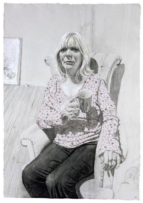 Alison Steadman, by Stuart Pearson Wright, 2004-2005 - NPG 6760 - © National Portrait Gallery, London