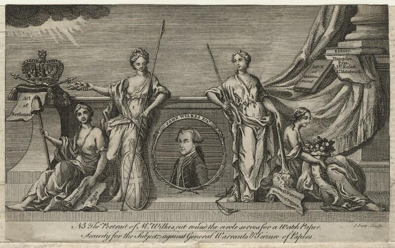 John Wilkes, by John June, 1768 - NPG D21662 - © National Portrait Gallery, London