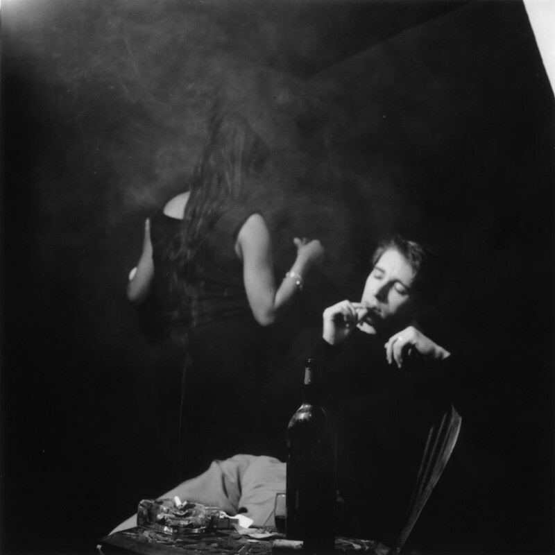 Judy Johnson; Terry Taylor, by Ida Kar, 1957 - NPG x128229 - © National Portrait Gallery, London