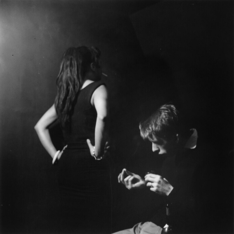 Judy Johnson; Terry Taylor, by Ida Kar, 1957 - NPG x128237 - © National Portrait Gallery, London