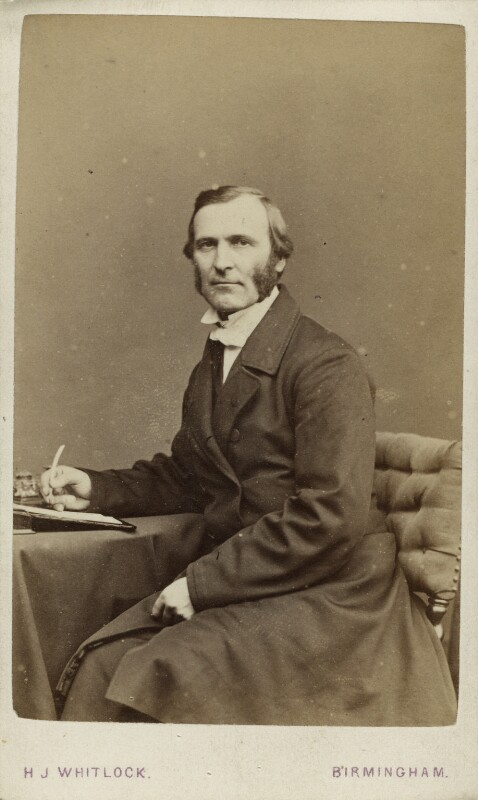 Frederick Temple, by Henry Joseph Whitlock, circa 1867 - NPG x12986 - © National Portrait Gallery, London