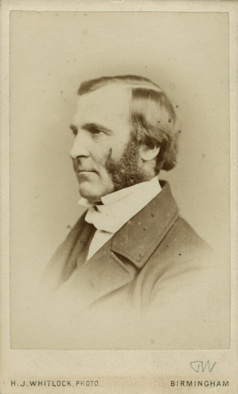 Frederick Temple, by Henry Joseph Whitlock, circa 1867 - NPG x12988 - © National Portrait Gallery, London