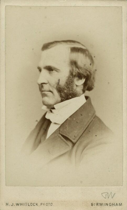 Frederick Temple, by Henry Joseph Whitlock, circa 1867 - NPG x12988 - © National Portrait Gallery, London