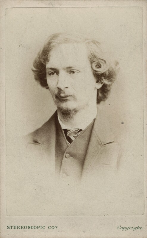 Algernon Charles Swinburne, by London Stereoscopic & Photographic Company, circa 1865 - NPG x12831 - © National Portrait Gallery, London