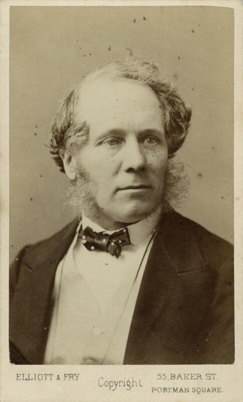 William Powell Frith, by Elliott & Fry, circa 1870 - NPG x28169 - © National Portrait Gallery, London