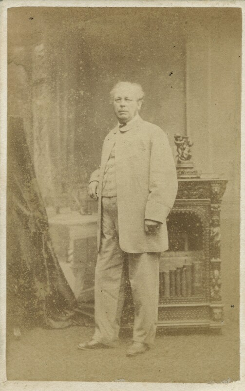Edward Duncan, by Ferdinand Jean de la Ferté Joubert, 1860s - NPG x76783 - © National Portrait Gallery, London