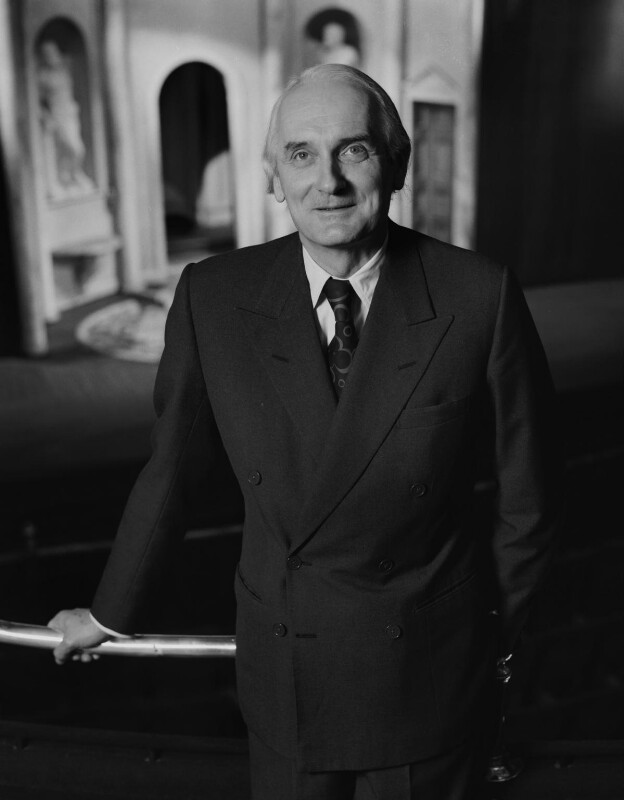 Sir Donald Arthur Rolleston Albery, by Rex Coleman, for  Baron Studios, 11 December 1972 - NPG x128262 - © National Portrait Gallery, London