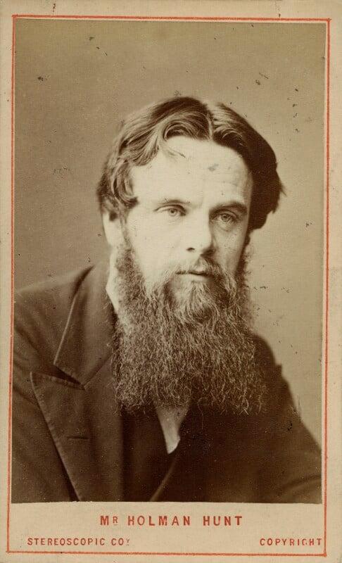 William Holman Hunt, by London Stereoscopic & Photographic Company, circa 1865 - NPG Ax39942 - © National Portrait Gallery, London