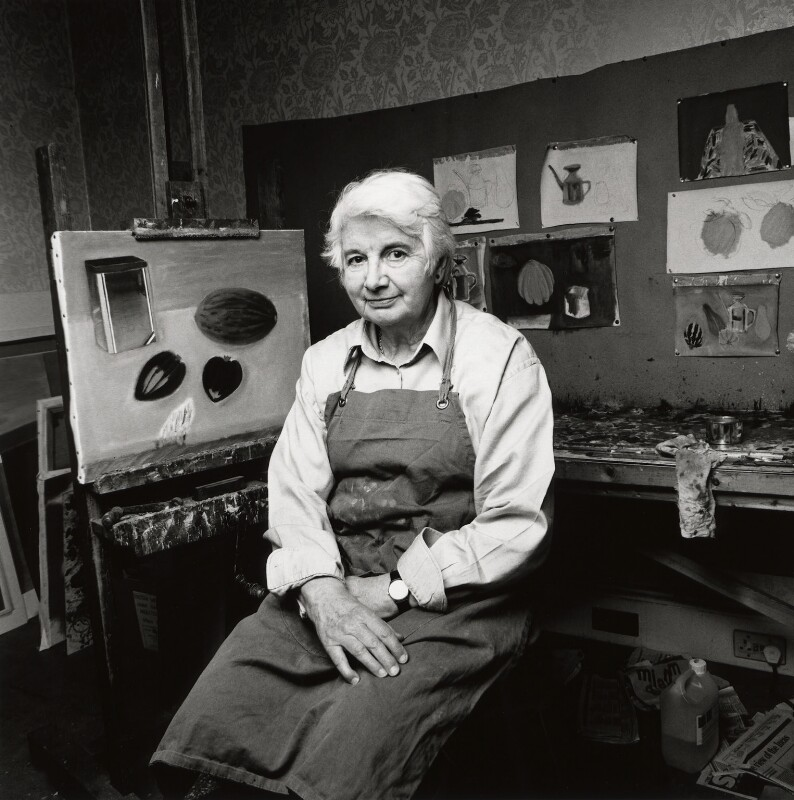 Elizabeth Blackadder, by Norman McBeath, 2003 - NPG x128272 - © Norman McBeath / National Portrait Gallery, London